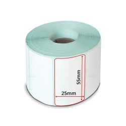 LP50 Label Roll 55x25