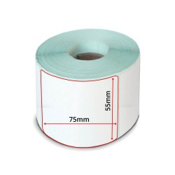 LP50 Rotolo Etichette 55x75